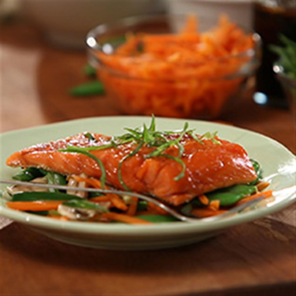 Tiffany's Asian-Infused Salmon Packets Trusted Brands