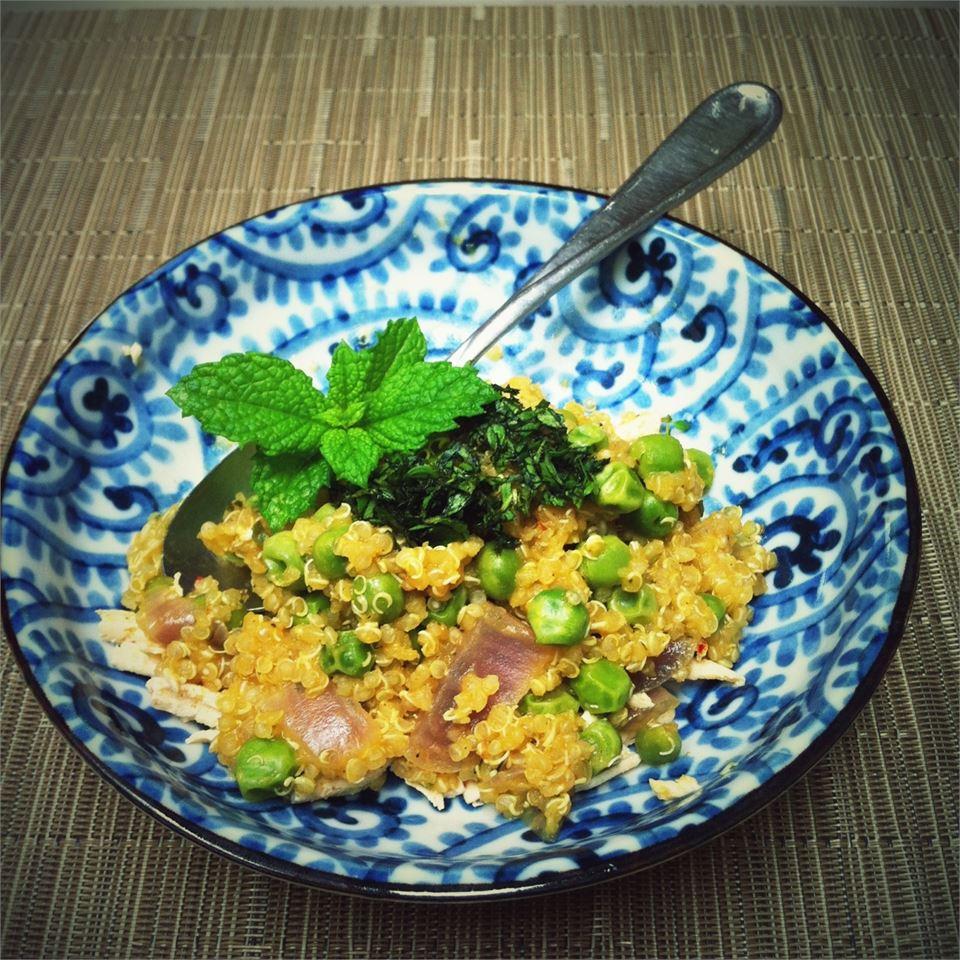 Quinoa with Peas ch2001sea