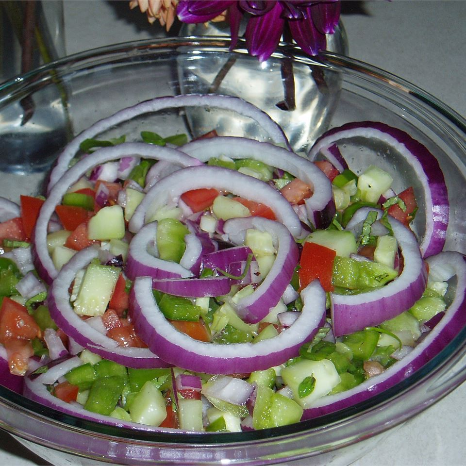 Tomato and Pepper Salad conqueress
