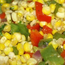 Southwestern Roasted Corn Salad homegrowncook