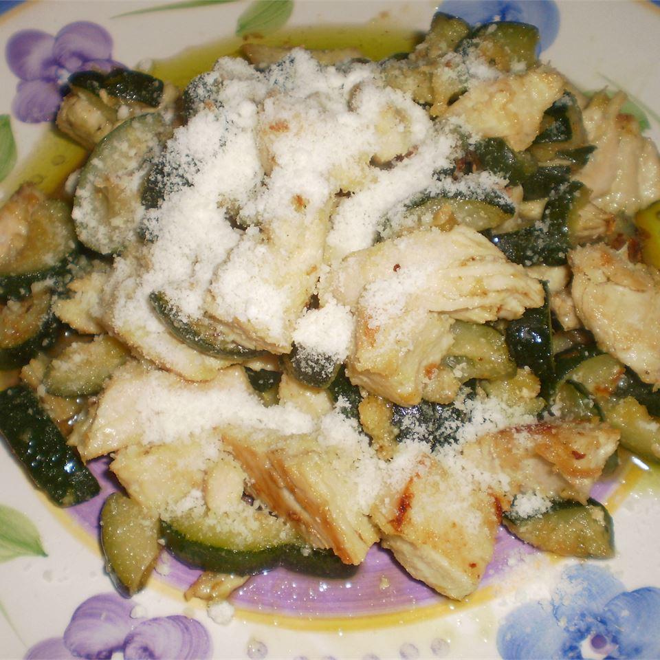 Garlic Chicken and Zucchini Cookie734