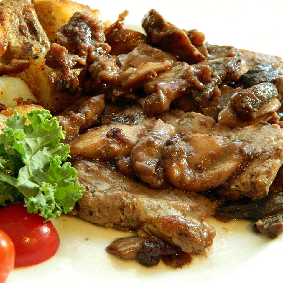 Mushroom Smothered Steak