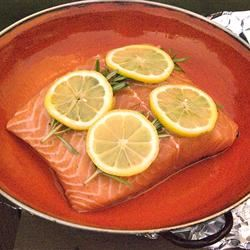 Lemon Rosemary Salmon AL