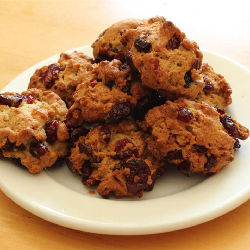Zesty Cranberry-Bran Cookies