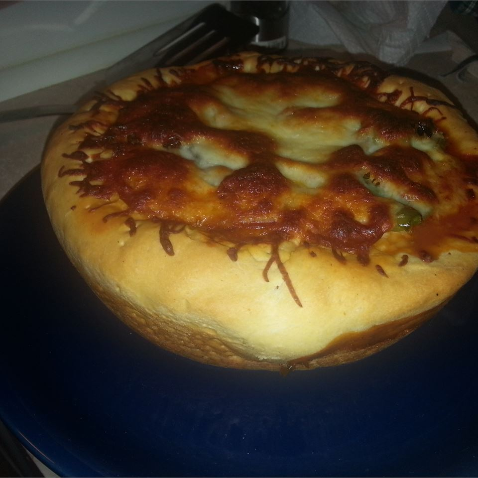 Deep-Dish Cast Iron Pizza