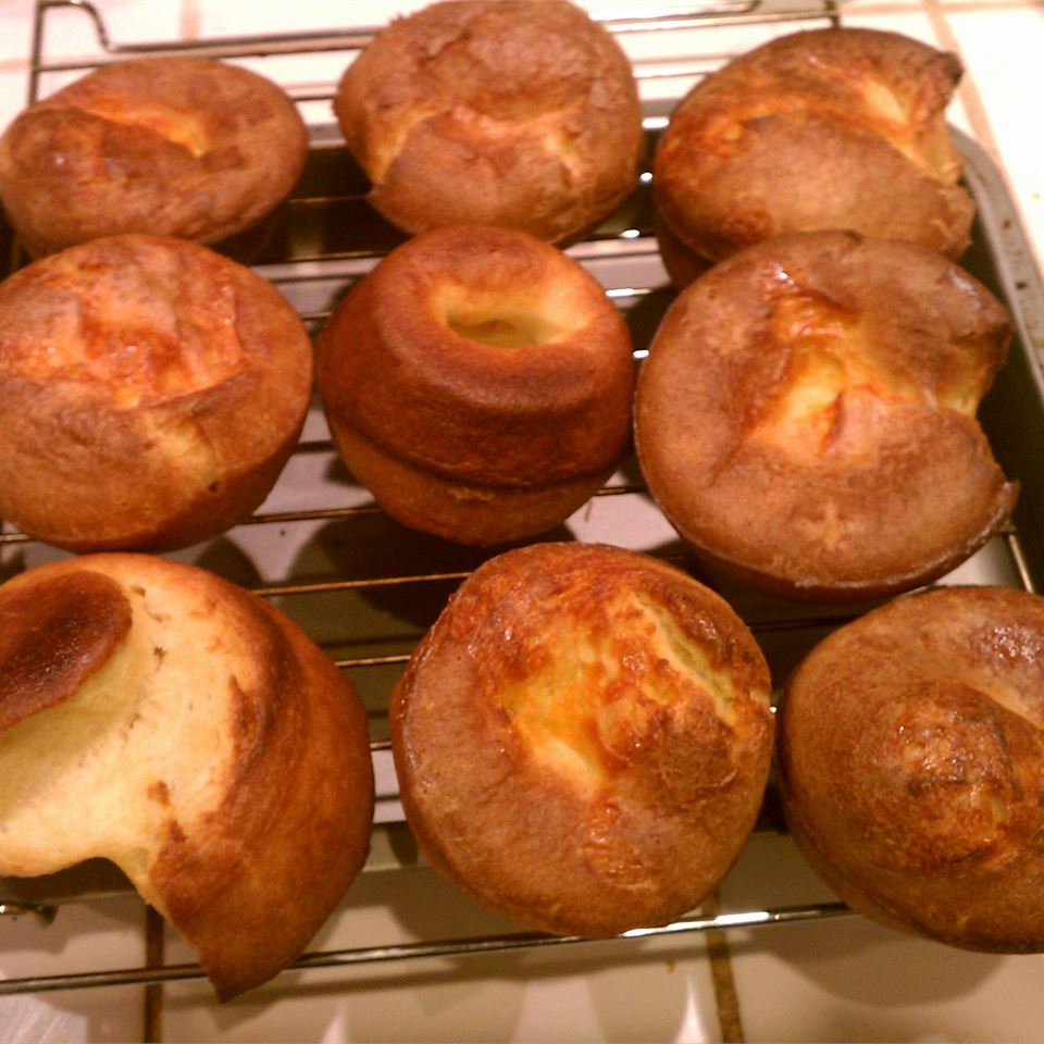 Chef John's Popovers Blueberry Sunshine