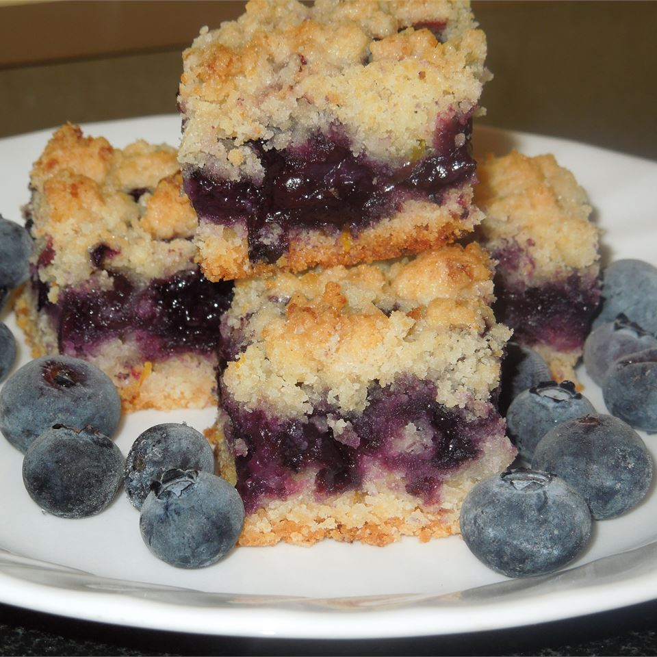 Blueberry Crumb Bars Sue Garzone