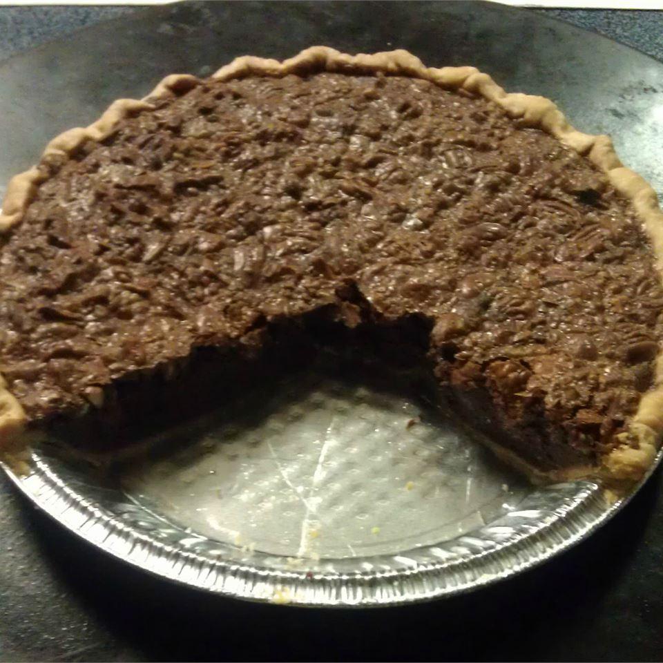 Chocolate Pecan Pie VI
