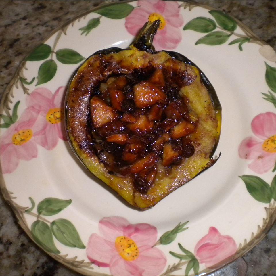 Apple-Stuffed Acorn Squash Charles Morganti