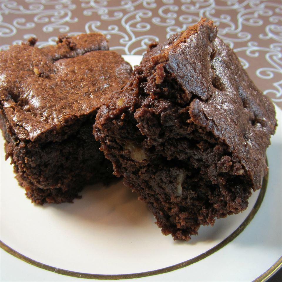 Homemade Chocolate Walnut Brownies Deb C