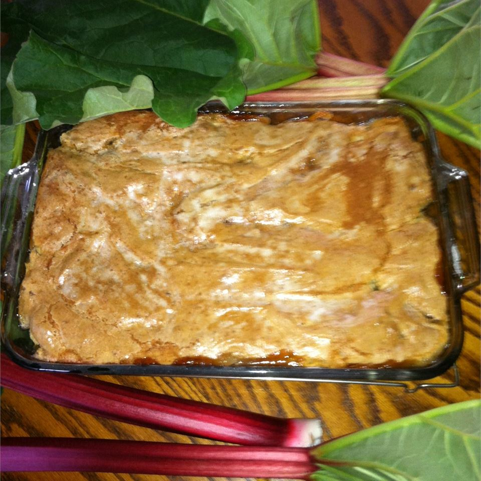Old Fashioned Rhubarb Cobbler Andrea Culbertson