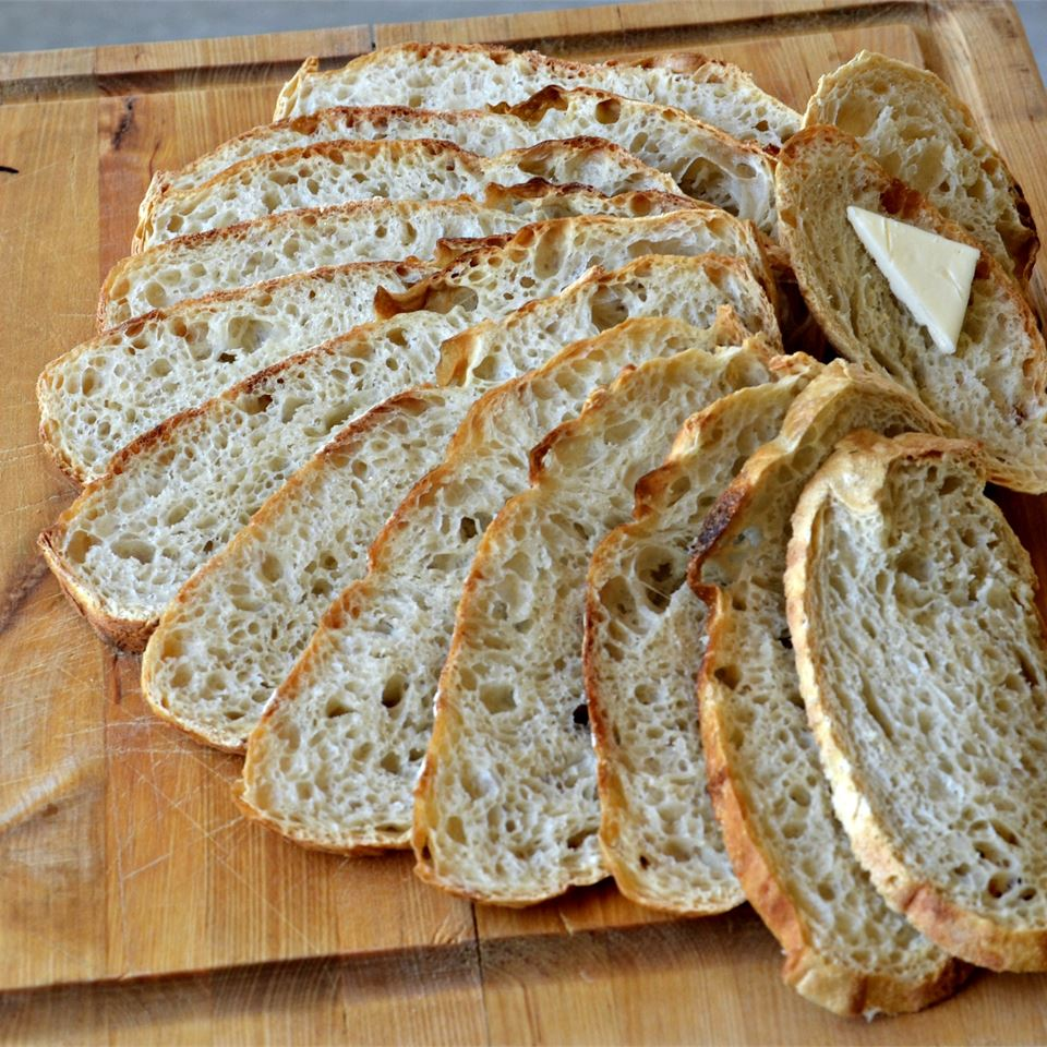 No-Knead Artisan Style Bread Jewissa