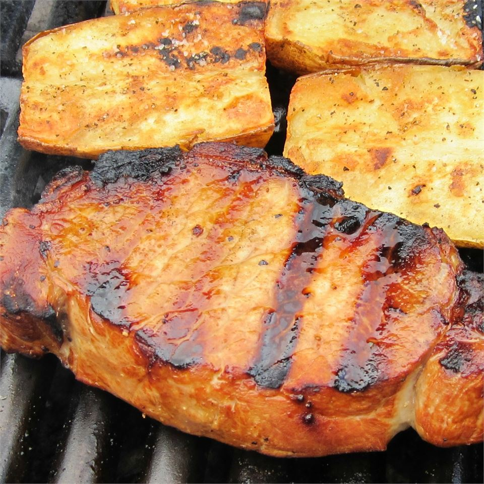 Best Grilled Pork Chops goodeats
