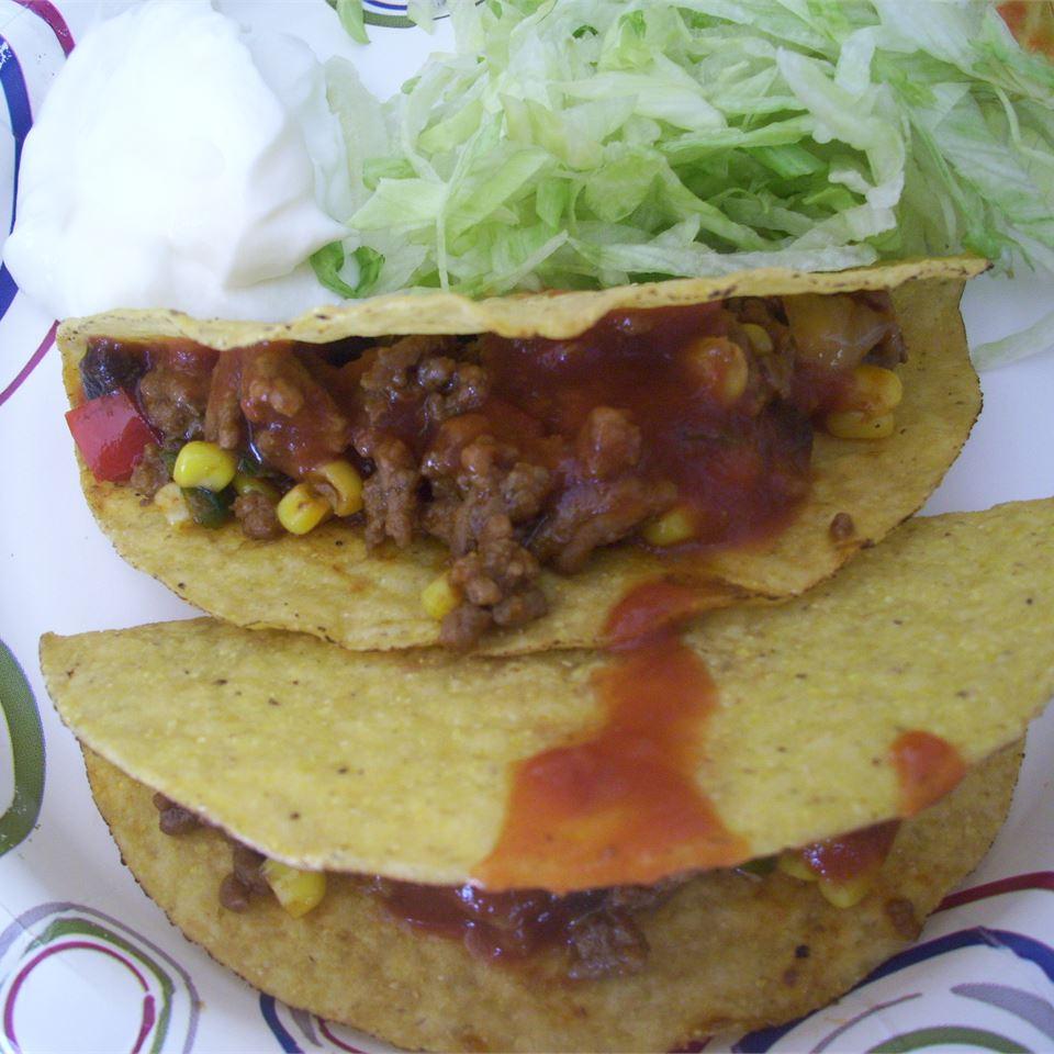 Taco Dinner Blessed Baker