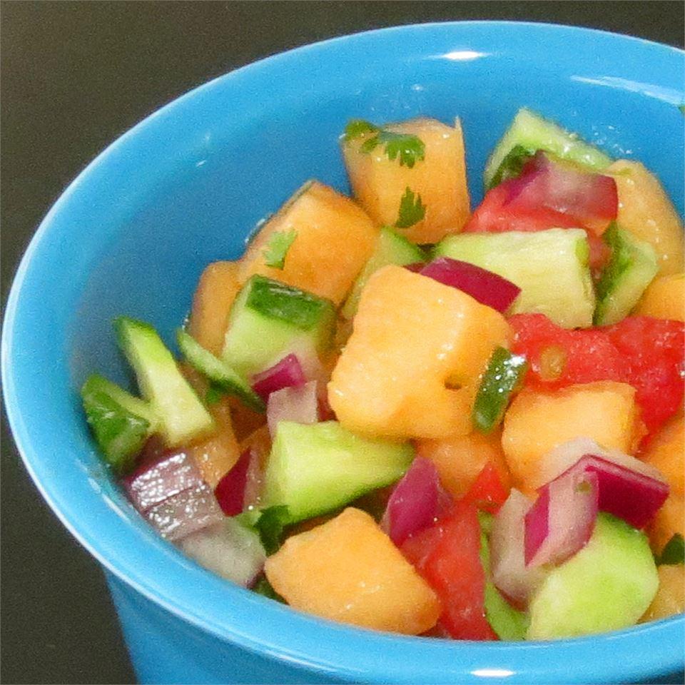 Cucumber Melon Salsa linda2d