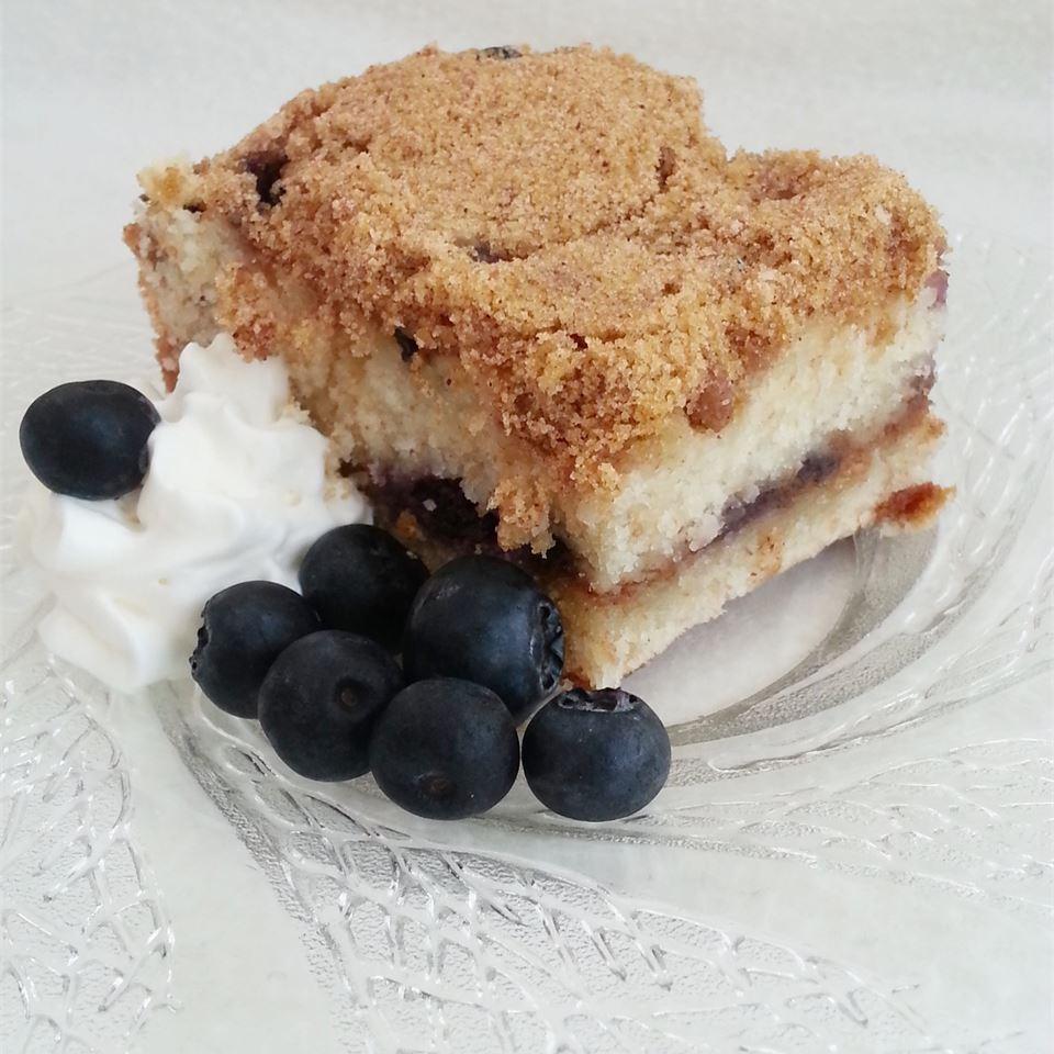 Sour Cream Blueberry Coffee Cake