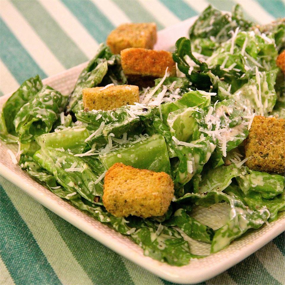 Easy Creamy Caesar Salad Dressing