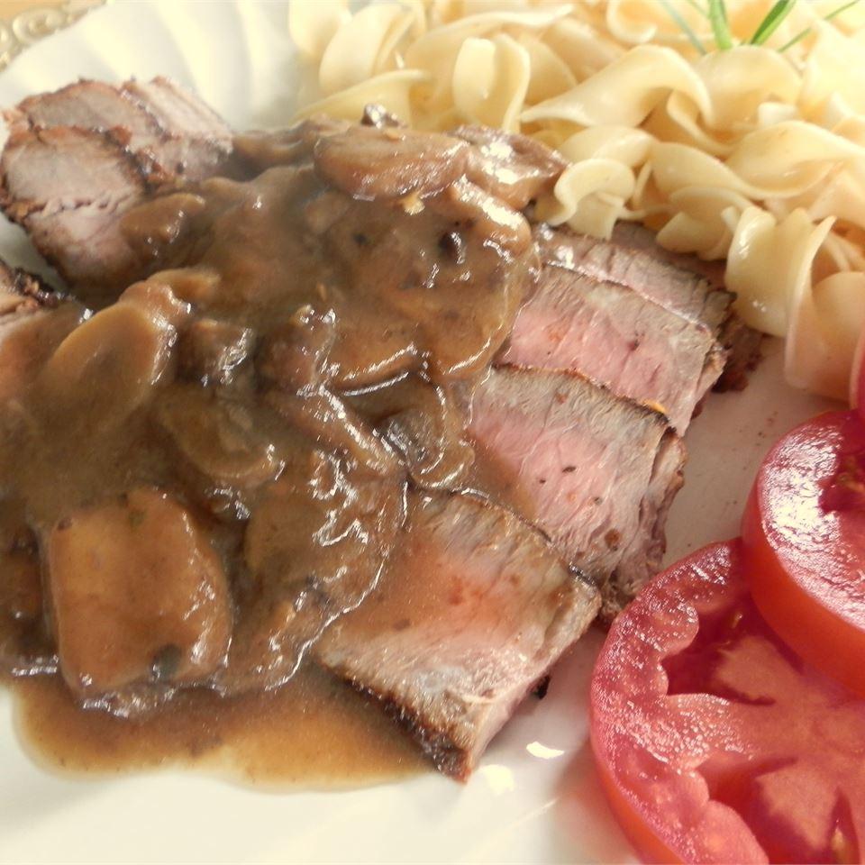 Mushroom Smothered Steak Cindy Capps Lepp