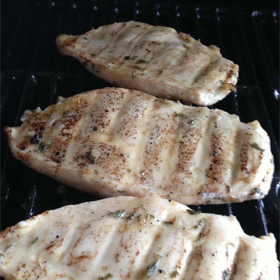 Jenny's Grilled Chicken Breasts Branmuffin