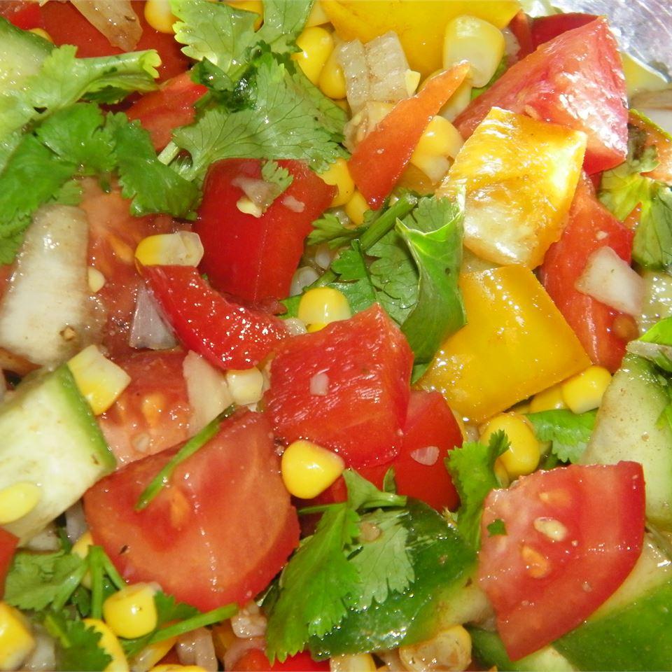 Mexican Cucumber Salad
