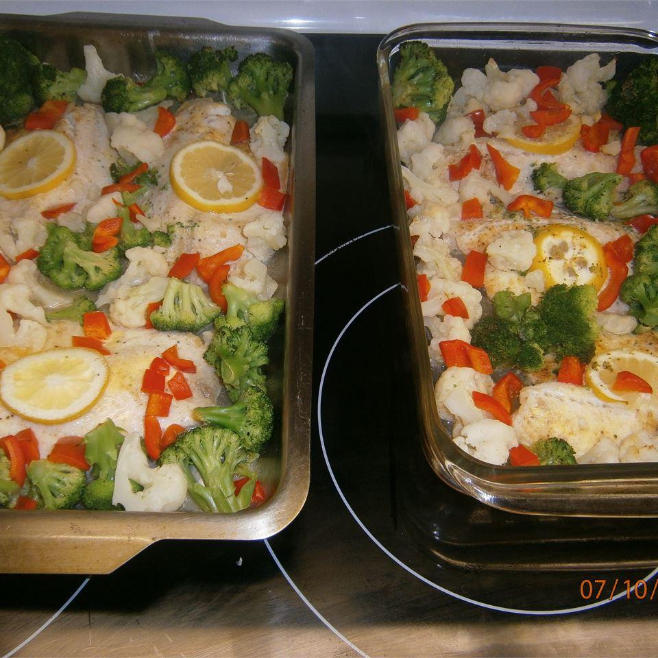 Healthier Easy Baked Tilapia Angela