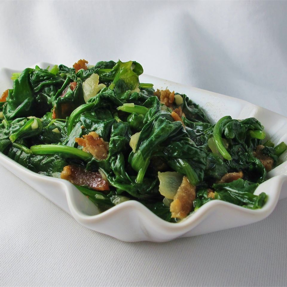 Pan Fried Spinach RUSTY5