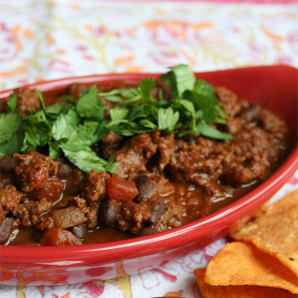 Beef Chili Five Ways