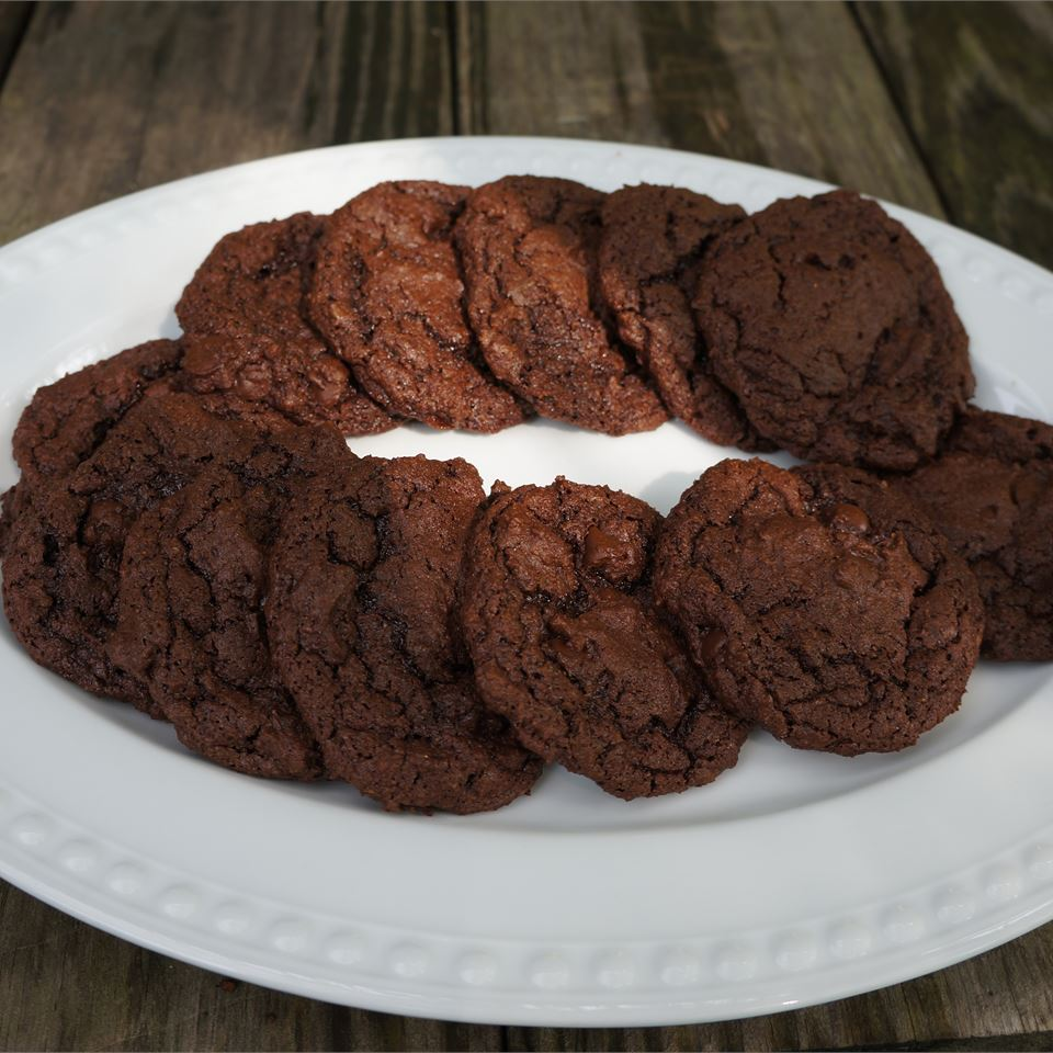 Gluten-Free Double Chocolate Cookies