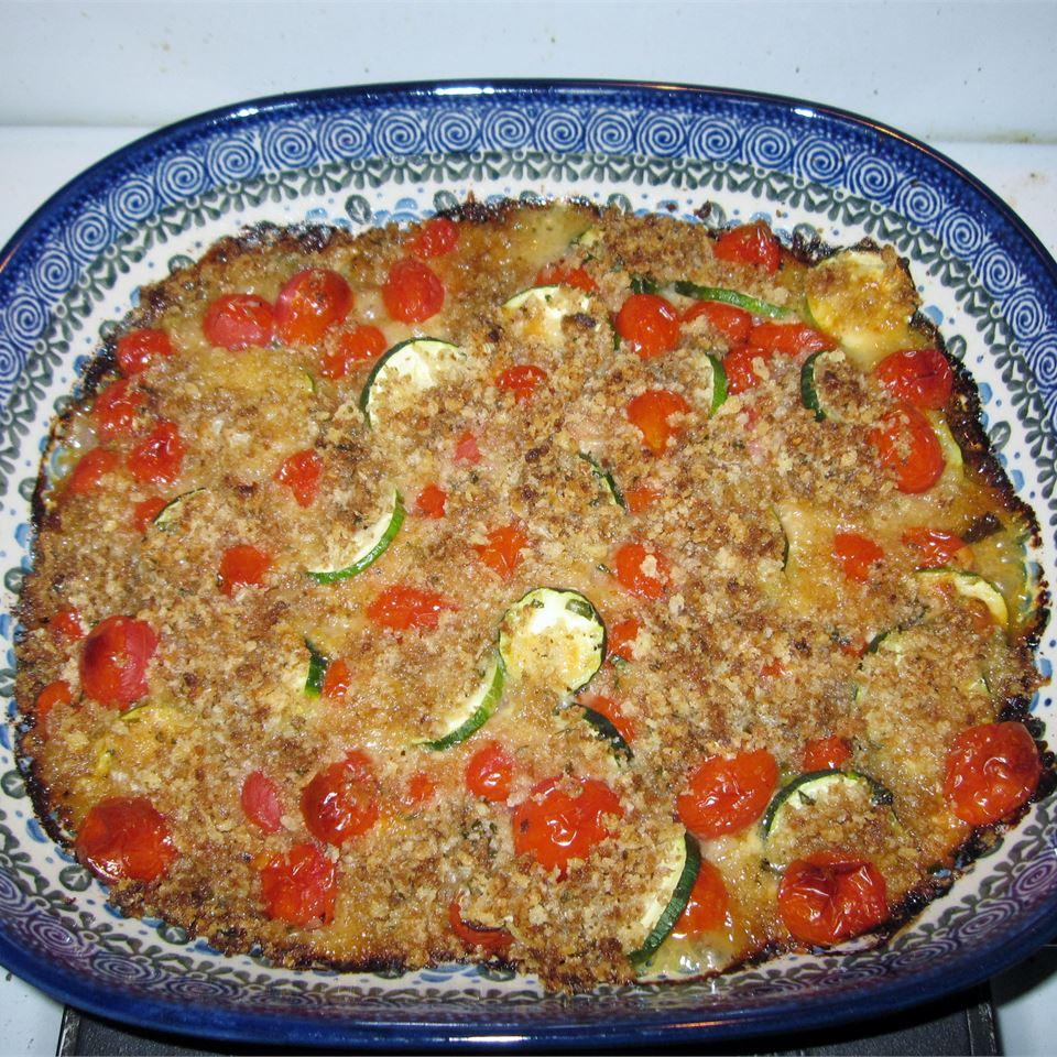 Tomato Zucchini Casserole Lisa Relation