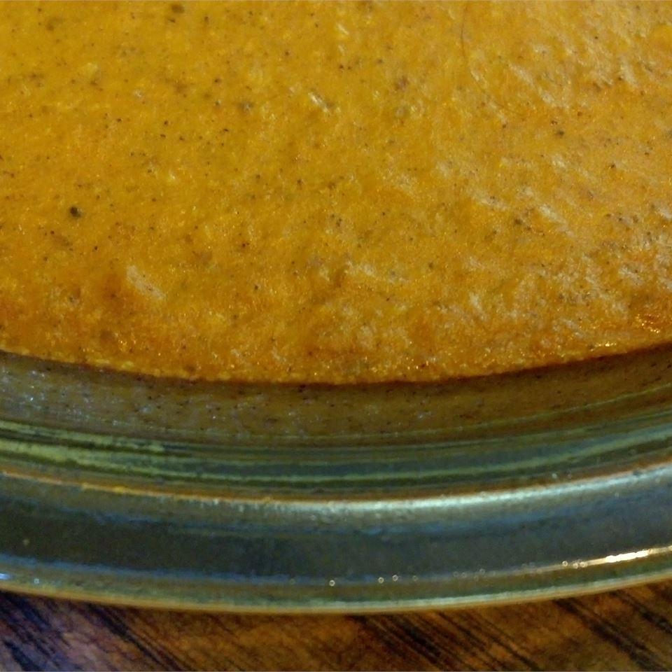 Crustless Pumpkin Pie WALLFLOWER71