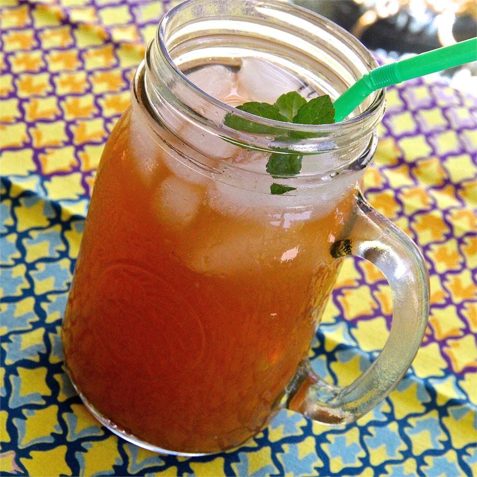 Cranberry Orange Iced Tea