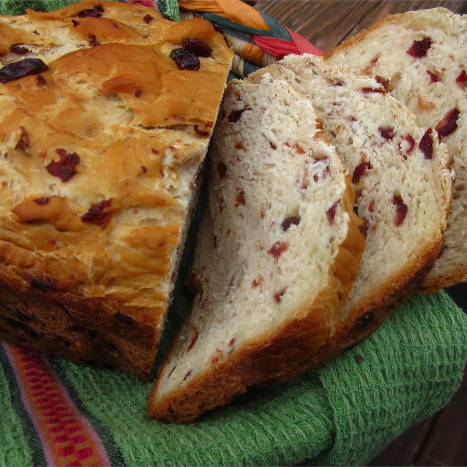 Cranberry Orange Bread (For Bread Machine)