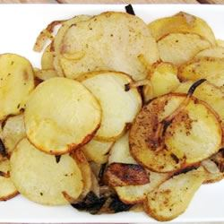 Grilled Potatoes and Onion Pamela Spencer