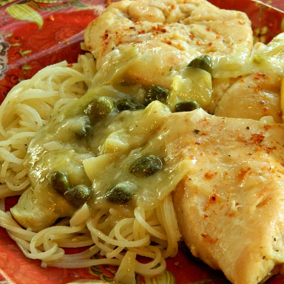 Pick of the Piccata Sauce Mary Elizabeth Vaquer