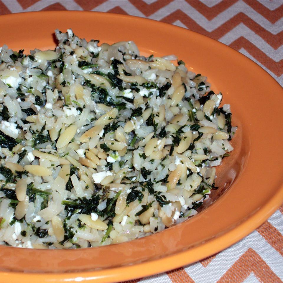 Sarah's Feta Rice Pilaf Happyschmoopies