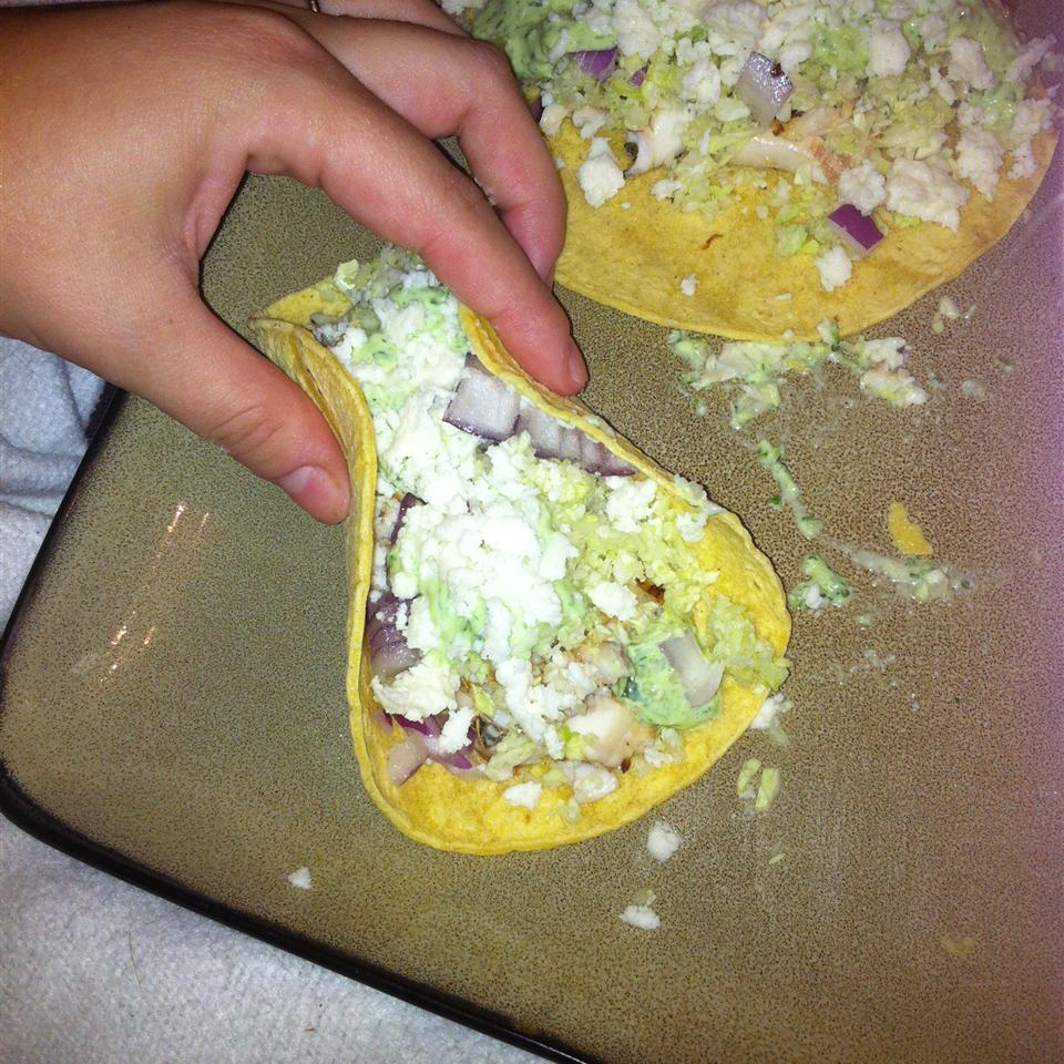 Ryann's Spicy Grilled Fish Tacos