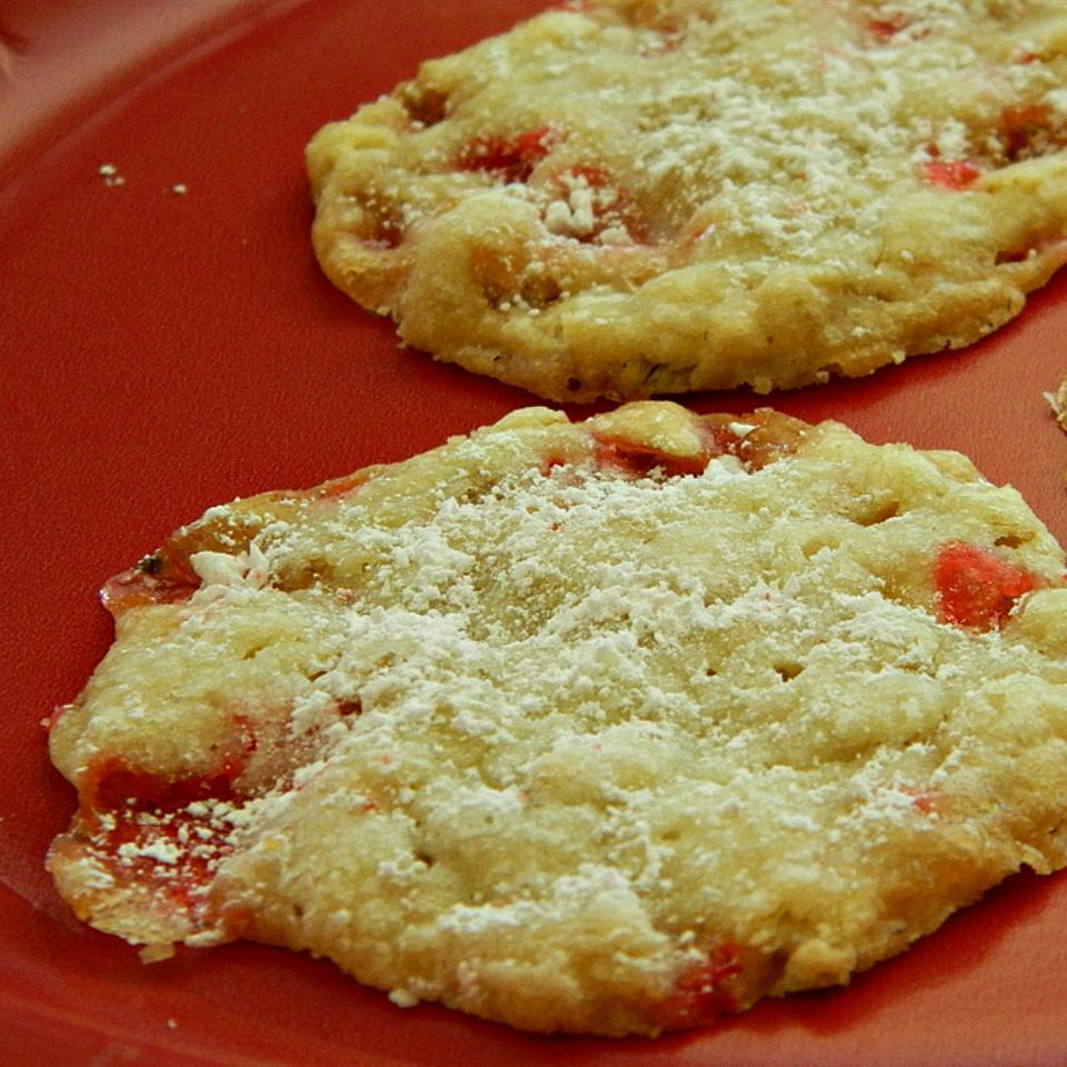 Peppermint Lace Cookies Marianne