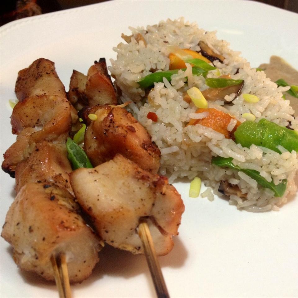 Easy Chicken Satay