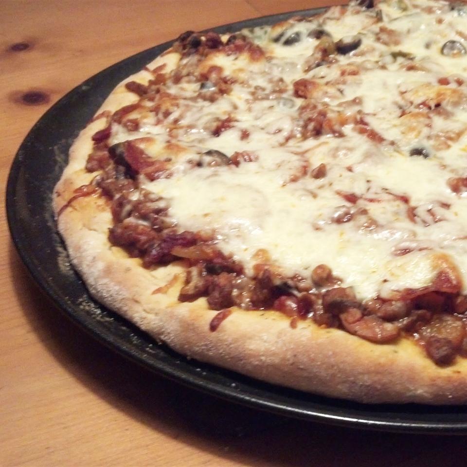 World's Easiest Bread Machine Pizza Dough