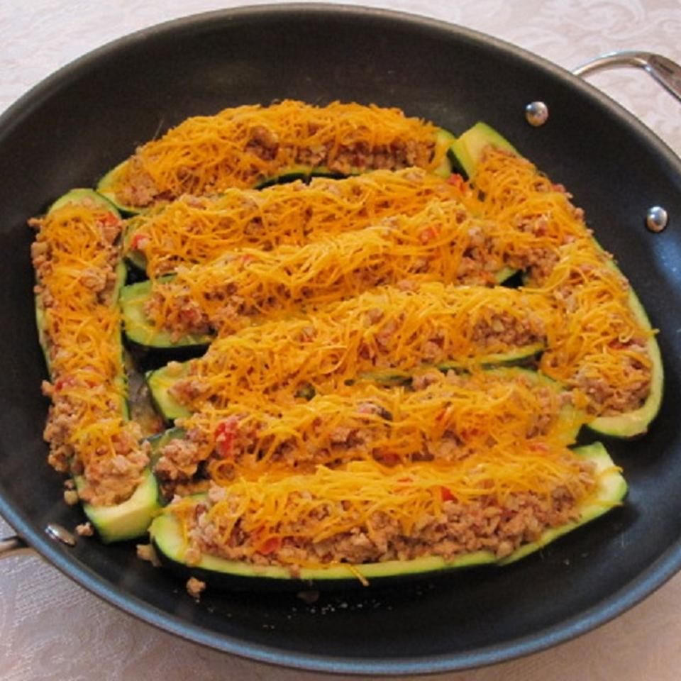 Egg Stuffed Zucchini galyha