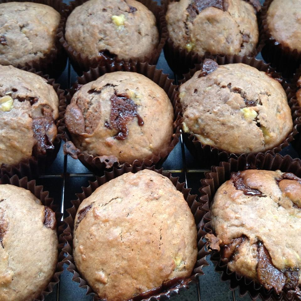 Chocolate-Banana Muffins
