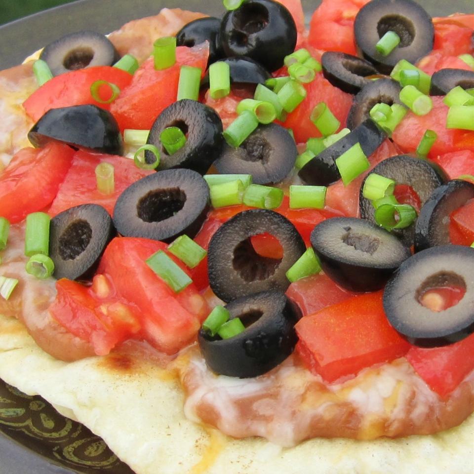 Fiesta Corn Tortilla Pizzas Deb C