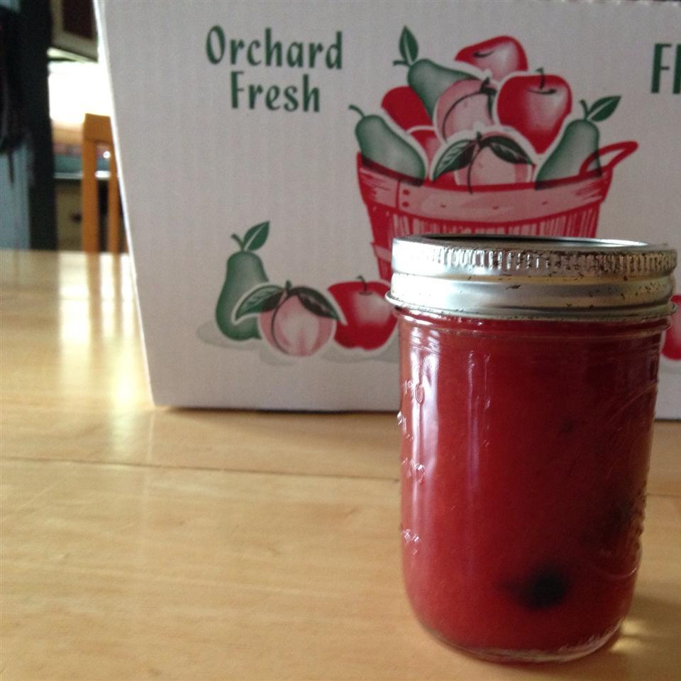 Peach-Blueberry Jam