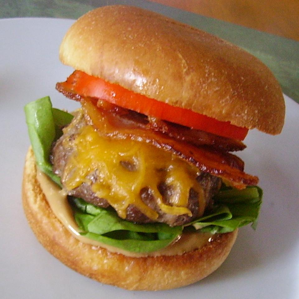 Peanut Butter Bacon Burger