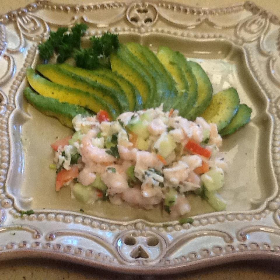 Seafood Stuffed Avocados LISE03