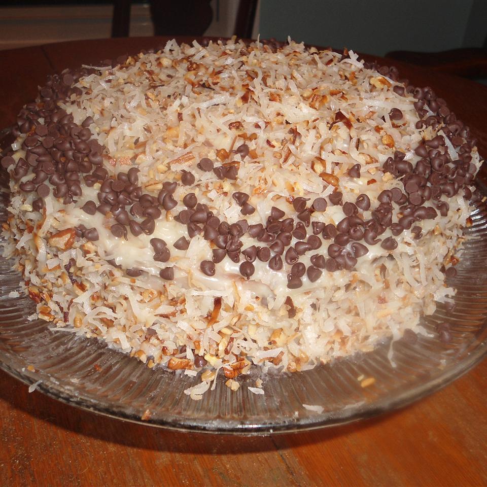 Coconut Pecan Cake Genevieve Acker