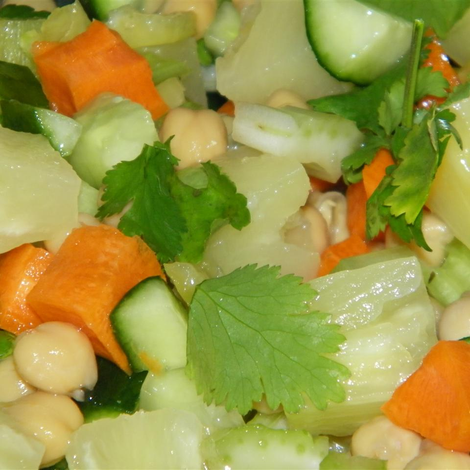 South Indian Chickpea Salad