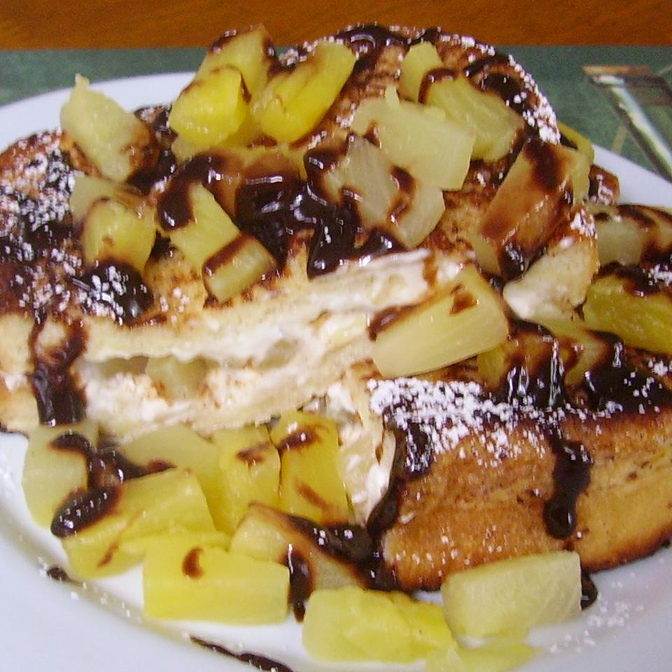Pineapple-Stuffed French Toast Christina