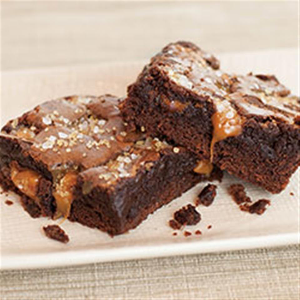 Sea Salt Caramel Brownies Trusted Brands
