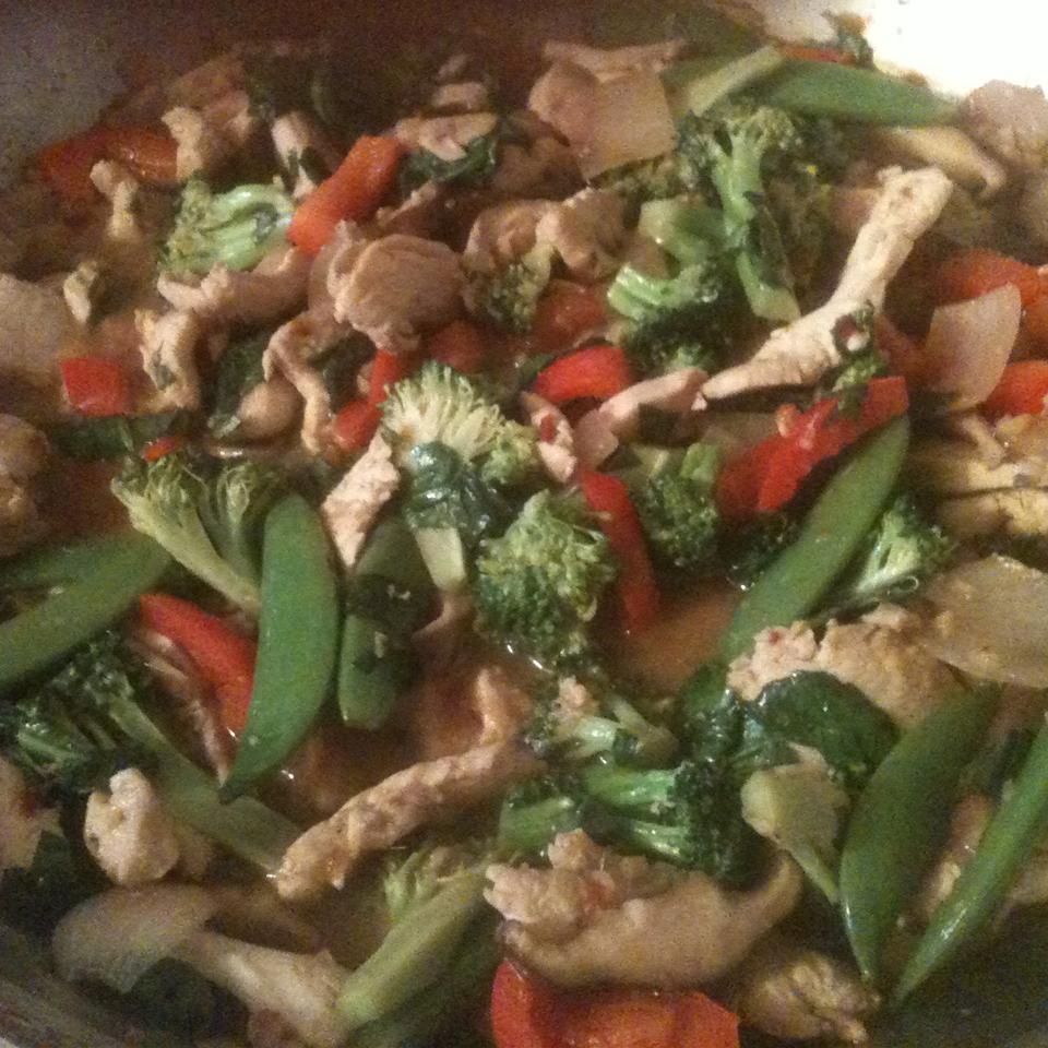 Thai Chicken with Basil Stir Fry atbarber